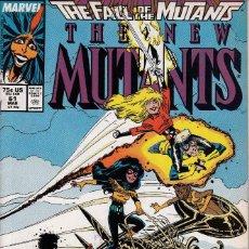Comics - NEW MUTANTS vol.1 # 61 (MARVEL,1988) - VFN - FALL OF THE MUTANTS - 117628007