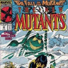 Comics - NEW MUTANTS vol.1 # 60 (MARVEL,1988) - VFN - DOUBLE-SIZED - FALL OF THE MUTANTS - 117628095
