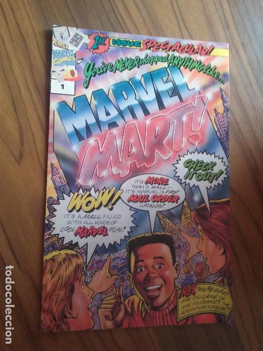 MARVEL MART! 1. EN INGLÉS. 8 PÁGINAS. HUMOR. BUEN ESTADO. RARO (Tebeos y Comics - Comics Lengua Extranjera - Comics USA)