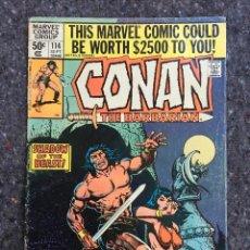 Cómics: CONAN THE BARBARIAN # 114 . Lote 118578363