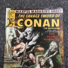 Cómics: THE SAVAGE SWORD OF CONAN # 60 - NEAL ADAMS - MUY BUEN ESTADO. Lote 118608387
