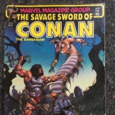 Fumetti: THE SAVAGE SWORD OF CONAN # 65 - 1ST BRONT BY JOHN BUSCEMA - MUY BUEN ESTADO. Lote 118608715