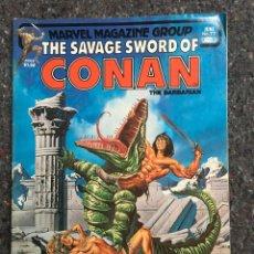 Cómics: THE SAVAGE SWORD OF CONAN # 77- BUEN ESTADO. Lote 118608879