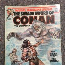 Cómics: THE SAVAGE SWORD OF CONAN # 78- BUEN ESTADO. Lote 118609007