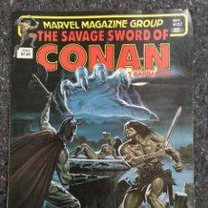Cómics: THE SAVAGE SWORD OF CONAN # 82 - MUY BUEN ESTADO. Lote 118609635