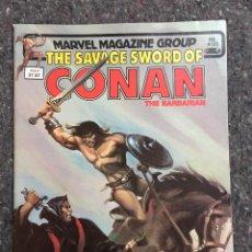 Cómics: THE SAVAGE SWORD OF CONAN # 85 - EXCELENTE ESTADO. Lote 118609991