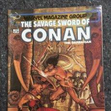 Cómics: THE SAVAGE SWORD OF CONAN # 88 - EXCELENTE ESTADO. Lote 118610323