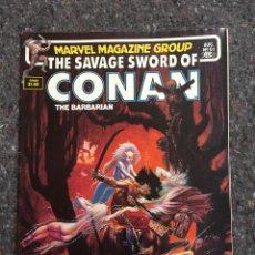 Cómics: THE SAVAGE SWORD OF CONAN # 91- EXCELENTE ESTADO. Lote 118610975