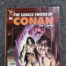 Cómics: THE SAVAGE SWORD OF CONAN # 94 - EXCELENTE ESTADO. Lote 118611227