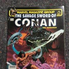 Cómics: THE SAVAGE SWORD OF CONAN # 96- EXCELENTE ESTADO. Lote 118611799
