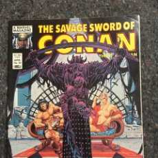 Cómics: THE SAVAGE SWORD OF CONAN # 99 - EXCELENTE ESTADO. Lote 118613375