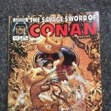 Cómics: THE SAVAGE SWORD OF CONAN # 111 - EXCELENTE ESTADO. Lote 118614167
