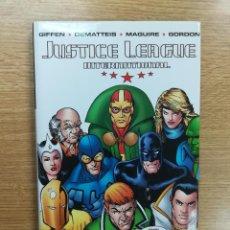 Cómics: JUSTICE LEAGUE INTERNATIONAL HC #1. Lote 118924511
