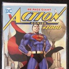 Cómics: ACTION COMICS #1000 SUPERMAN DC COMICS JIM LEE 2018. ORIGINAL AMERICANO EN INGLÉS. Lote 122733748