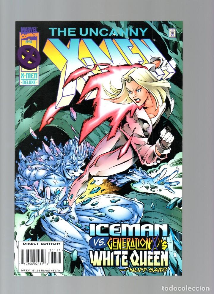 UNCANNY X-MEN 331 - MARVEL 1996 VFN/NM / ICEMAN VS WHITE QUEEN (Tebeos y Comics - Comics Lengua Extranjera - Comics USA)
