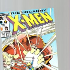 UNCANNY X-MEN 217 - MARVEL 1987 - VFN/NM DAZZLER VS JUGGERNAUT