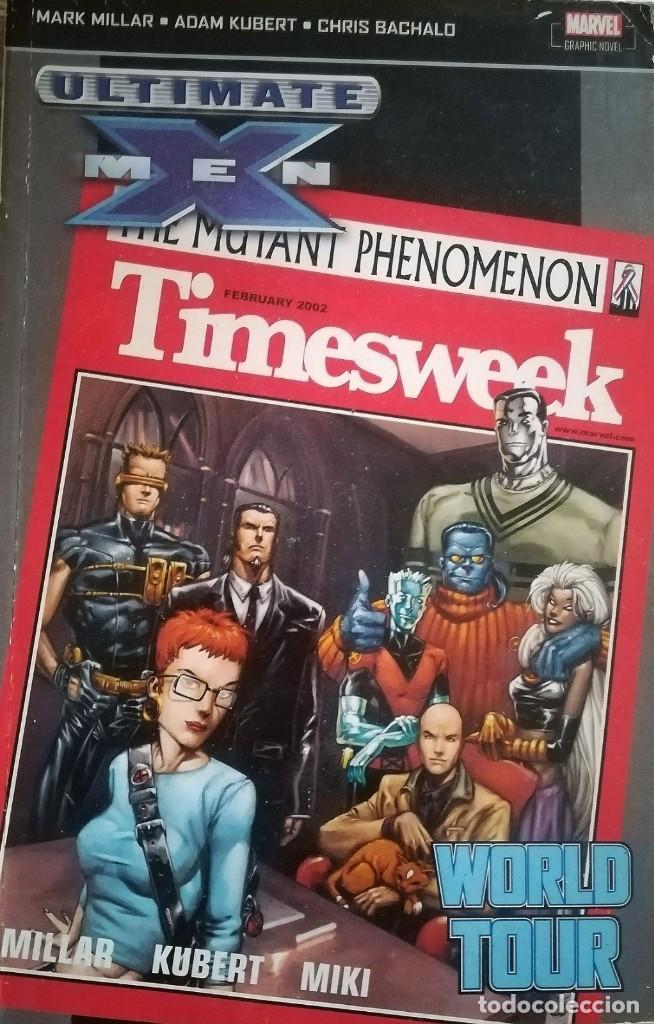 ULTIMATE X MEN WORLD TOUR TOMO VERSION USA (Tebeos y Comics - Comics Lengua Extranjera - Comics USA)