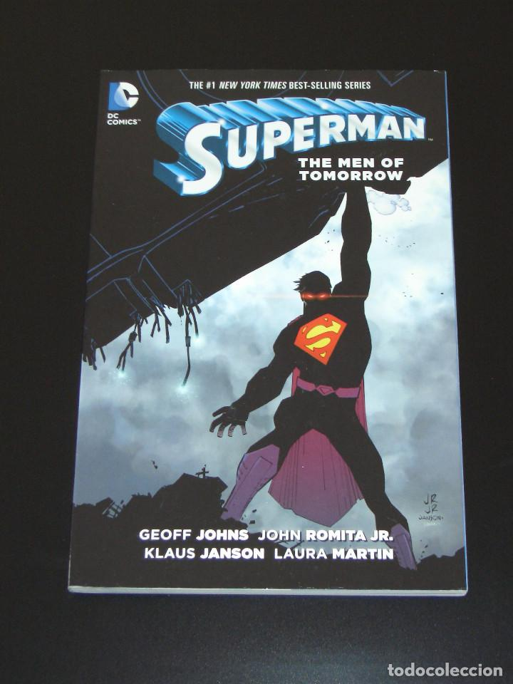 Cómics: Superman - The Men of Tomorrow TPB - Geoff Johns - John Romita Jr. - Foto 1 - 120437575