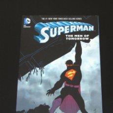 Cómics: SUPERMAN - THE MEN OF TOMORROW TPB - GEOFF JOHNS - JOHN ROMITA JR.. Lote 120437575
