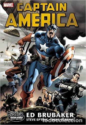 OMNIBUS CAPTAIN AMERICA VOL 1. ED BRUBAKER (Tebeos y Comics - Comics Lengua Extranjera - Comics USA)