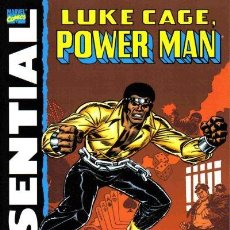 Cómics: ESSENTIAL LUKE CAGE, POWER MAN VOL 1 & 2. Lote 120793815