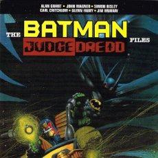 Cómics: THE BATMAN / JUDGE DREDD FILES. Lote 120806507