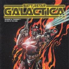 Cómics: COMPLETA - BATTLESTAR GALACTICA: SEASON III # 1 AL 3 (REALM,1999). Lote 121534163