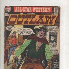Cómics: ALL STAR WESTERN PRESENTS OUTLAW Y EL DIABLO Nº 2 DC COMICS 1970 USA.DA. Lote 121977359