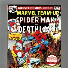 Cómics: MARVEL TEAM UP 46 - 1976 VG+ / AMAZING SPIDER-MAN AND DEATHLOK. Lote 122167191