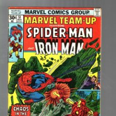 Cómics: MARVEL TEAM UP 51 - 1976 VG+ / AMAZING SPIDER-MAN AND IRON MAN / DOCTOR STRANGE. Lote 122167347