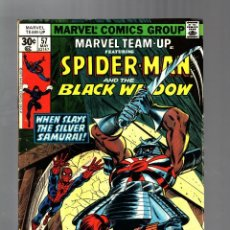 Cómics: MARVEL TEAM UP 57 - 1977 FN- / AMAZING SPIDER-MAN AND BLACK WIDOW. Lote 122167507