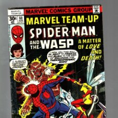 Cómics: MARVEL TEAM UP 60 - 1977 VG/FN / AMAZING SPIDER-MAN AND THE WASP / JOHN BYRNE. Lote 122167663