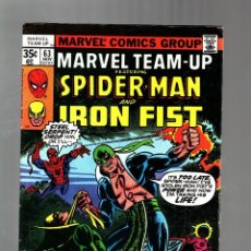 Cómics: MARVEL TEAM UP 63 - 1977 VG/FN / AMAZING SPIDER-MAN AND IRON FIST / JOHN BYRNE. Lote 122167923