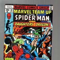 Cómics: MARVEL TEAM UP 64 - 1977 FN- / AMAZING SPIDER-MAN AND DAUGHTERS OF THE DRAGON / JOHN BYRNE. Lote 122168039
