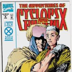Cómics: ADVENTURES OF CYCLOPS AND PHOENIX Nº 2 .1994 COMICS USA. Lote 122232615