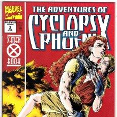 Cómics: ADVENTURES OF CYCLOPS AND PHOENIX Nº 3 .1994 COMICS USA. Lote 122232643