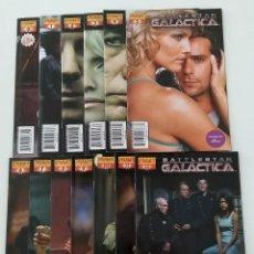 Comics - COMPLETA - BATTLESTAR GALACTICA vol.1 # 0 al 12 (DYNAMITE,2006) - PHOTO COVER COMPLETE SET - 122268735