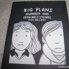 Cómics: BIG PLANS #1 (2006). Lote 122759311