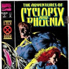Cómics: ADVENTURES OF CYCLOPS AND PHOENIX Nº 1 .1994 COMICS USA. Lote 123012927