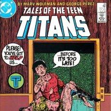 Cómics: TALES OF THE TEEN TITANS #45, DC COMICS, 1.984, USA.. Lote 123416859
