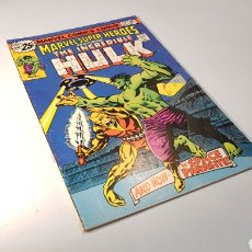 Cómics: THE INCREDIBLE HULK 57 CASI EXCELENTE ESTADO USA MARVEL. Lote 124010975