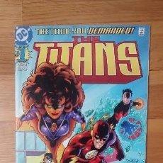 Cómics: THE TITANS 1 TITANES NUMERO 1 . Lote 124031419