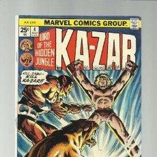 Cómics: KA-ZAR 4, 1974, MARVEL COMICS, MUY BUEN ESTADO. Lote 124215279