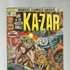 Cómics: KA-ZAR 5, 1974, MARVEL COMICS, MUY BUEN ESTADO. Lote 124215463