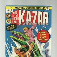 Cómics: KA-ZAR 6, 1974, MARVEL COMICS, MUY BUEN ESTADO. Lote 155585685