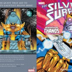 Cómics: SILVER SURFER REBIRTH OF THANOS TPB USA. Lote 124223131