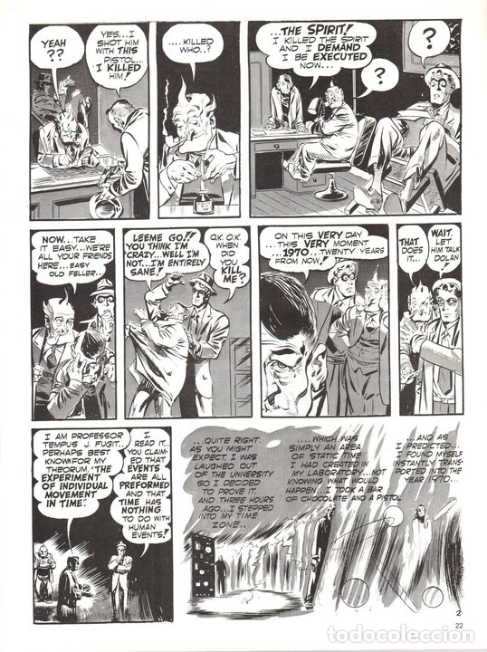 Cómics: SPIRIT. WILL EISNER. Nº 18. SIX CLASSIC EISNER STORIES. KITCHEN SINK ENTERPRISES. AÑO 1978 EN INGLES - Foto 2 - 124586431