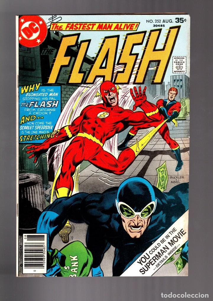 Flash 252 Dc 1977 Fn Elongated Man Sold At Auction 124731859