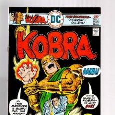 Cómics: KOBRA 1 - DC 1976 FN/VFN / JACK KIRBY. Lote 125307675