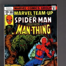 Cómics: MARVEL TEAM UP 68 - 1978 VFN / SPIDER-MAN AND MAN THING / BYRNE . Lote 125399739